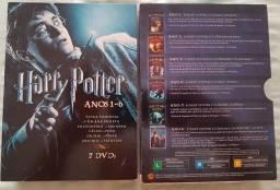 Box do filme Harry Potter Anos 1-6 comprar usado  São Gonçalo