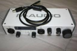 M-audio M-track Ii (sucessora Fast Track Pro) | M-track Mk2, usado comprar usado  Rio de Janeiro
