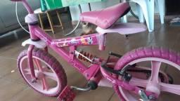 Bicicleta infantil disney princesa
