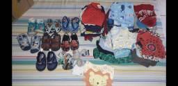 Roupas e calçados de 1 a 2 anos