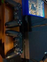 Vendo PS4 + jogos