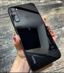 Celular Xiaomi Redmi Note 8 64 Global 64gb Preto Lacrado