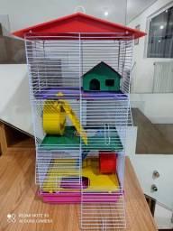 Gaiola prédio para hamster