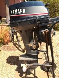 Motor 2 Tempos Yamaha 15 Hp Usado Ano 1994