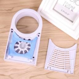 Mini Ventilador Portátil de Mão e Mesa USB