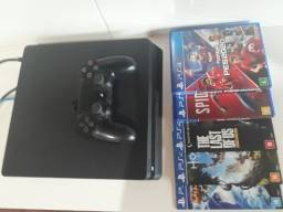PlayStation 4 Slim 500gb + 5 jogos