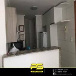 Título do anúncio: Apartamento com 2 dormitórios para alugar, por R$ 2.500/mês - Cabo Branco - João Pessoa/PB