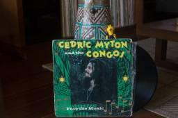 LP (disco de vinil) Cedric Myton & The Congos - Face The Music (1981)