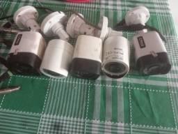 Câmeras + DVR 8 canais + transformador por: R$ 700,00