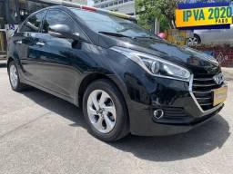 Hyundai Hb20s 2017 Premium + ipva 2020 pago + GNV + Bc de Couro =0km ac trocaa - 2017
