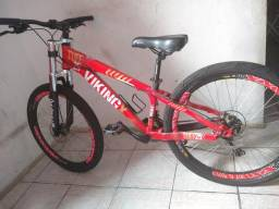 Usado, Bicicleta Vikingx Tuff 25 Vermelha, Alumínio, Aro 26 comprar usado  São Paulo