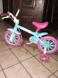 Bicicleta infantil Aqua 130 reais