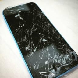Quero seu celular quebrado!