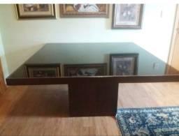 Vendo mesa Tampo de Vidro Preto