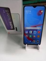 Xiomi Note 8 128 giga 6 de ram camera 64 mega 1.590 aceito cartao