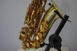 Sax Alto Condor CSA 31 + Boquilha Yamaha 3C {[(Ñ Selmer, Jupiter, Eagle, Hofman)]}