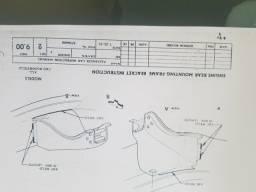 Bel Air 1956, Manual GM do Projeto completo.  Raríssimo.