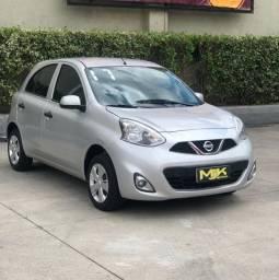 Nissan - March S 1.6 - Completo de Tudo ( Excelente P Uber ) 2017 * Novo D+