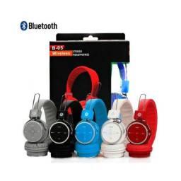 Fone Bluetooth Novo com Garantia-(Lojas Wiki)
