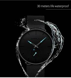 Relógio Crrju De Luxo masculino à prova dágua- várias cores