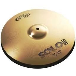 "Kit Prato Usado Hi-Hat 13"" Ride 20"" Orion Solo Pro"