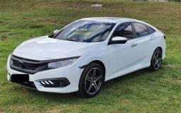 Honda Civic Touring 1.5 Turbo Automático 4Portas Branco Estelar