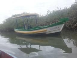 bote com motor e caixa novo