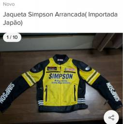 JAQUETA SIMPSON RACING (Sem Uso)