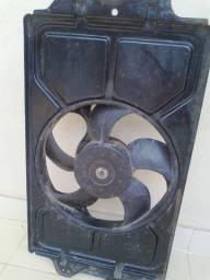 Ventoinha do Radiador Santana 1.8 1999 sem AC