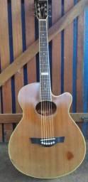 Vendo violão tagima dallas mahogany ABAIXOU O PREÇO