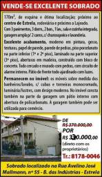 Imperdível Excelente Sobrado 3 Dormitórios - Estrela/RS