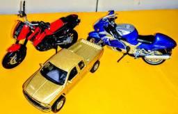 Miniaturas Carrinhos e Motos De Brinquedo (Coleção), Maisto