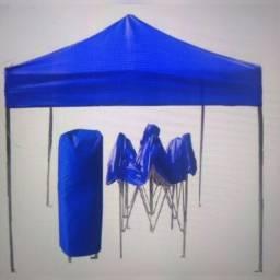 Vende-se Tenda sanfonada 2mx2m em PVC e Mesa sanfonada 2m comprimento