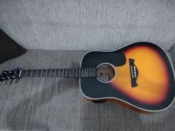 Violão Elétrico Folk Tagima TW25 Sunburst