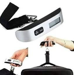 Título do anúncio: Balança Portatil Digital de Mão 50kg : Bagagens e Outros _ C153