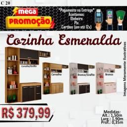 Título do anúncio: Cozinha esmeralda