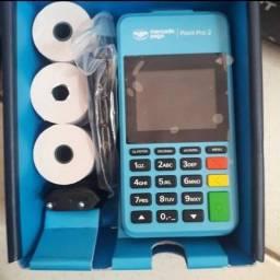 Máquina de cartão que imprime o comprovante - PROMOÇÃO