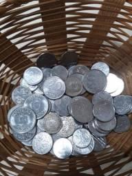 Lote 70 moedas antigas ( Diversos períodos)