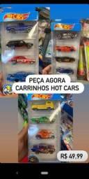 Carrinho de ferro hot cars