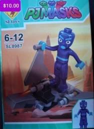 Título do anúncio: Pjmasks blocos de montar Similar aos lego