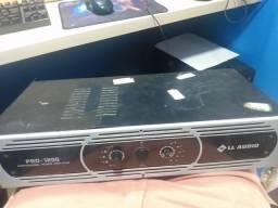 amplificador pro 1200 LL áudio (descrição)