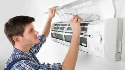 Título do anúncio: Air Clean Climatização - Instalação/Desinstalação - Instalação Ar condicionado Manutenção
