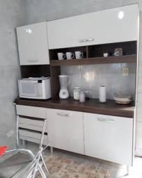 Kit de Cozinha com 1,83 de Largura, Não fura a Parede, 4 portas e 3 Gavetas