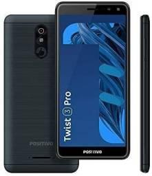 """Smartphone positivo twist 3 pro S533 64GB Dual Chip 5.7"""" - Grafite"""
