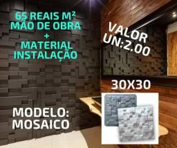 Placas gesso 3D