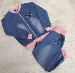 Conjunto jeans infantil