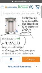 Purificador De Água Cônsul De Alta Capacidade De Refrigeraça