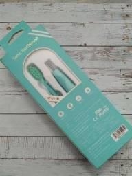 Escova de dente elétrica sonica toothbrush