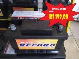 Título do anúncio: Bateria Record 60Ah