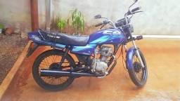 Vendo ou troco em moto com partida elétrica